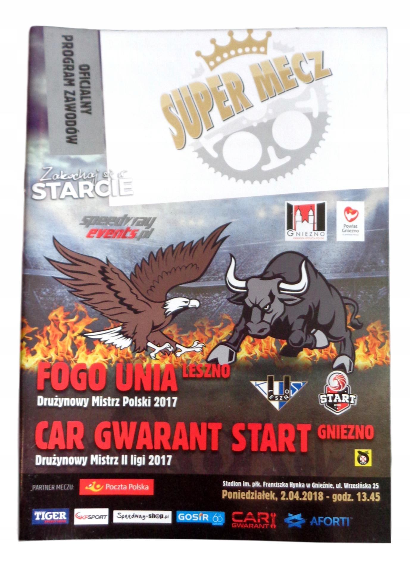 Senior Program Super Match Unia Leszno-Start Gniez