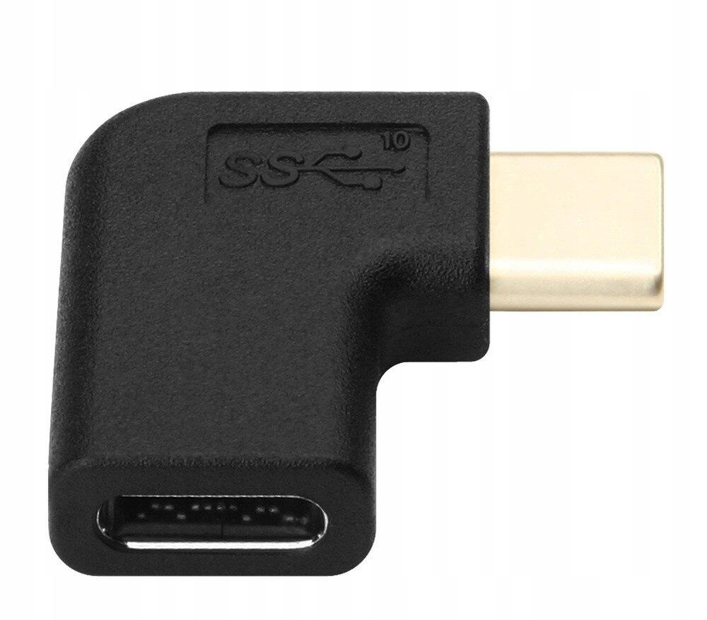 Купить Адаптер USB-C M / F правый угол левый на Otpravka - цены и фото - доставка из Польши и стран Европы в Украину.