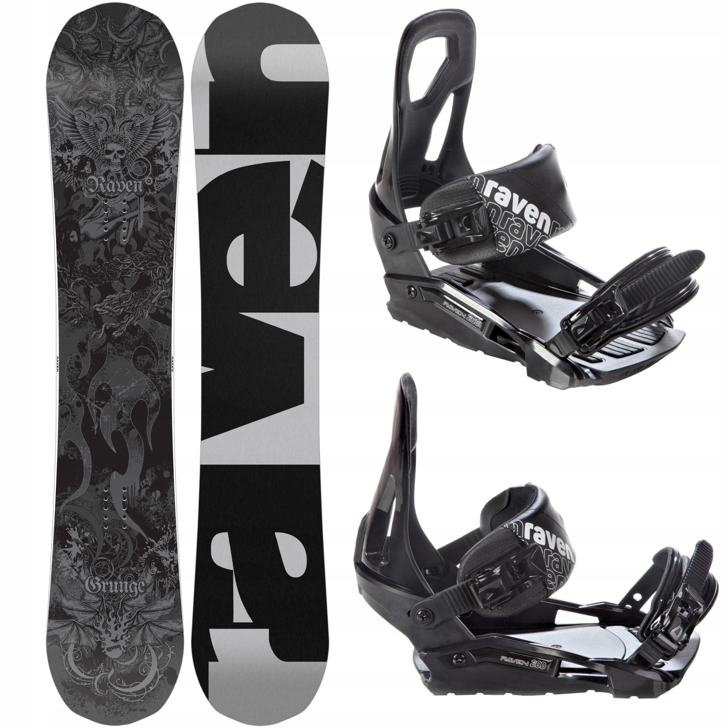 RAVEN snowboard Grunge 153cm 2019 + Záväzné S200