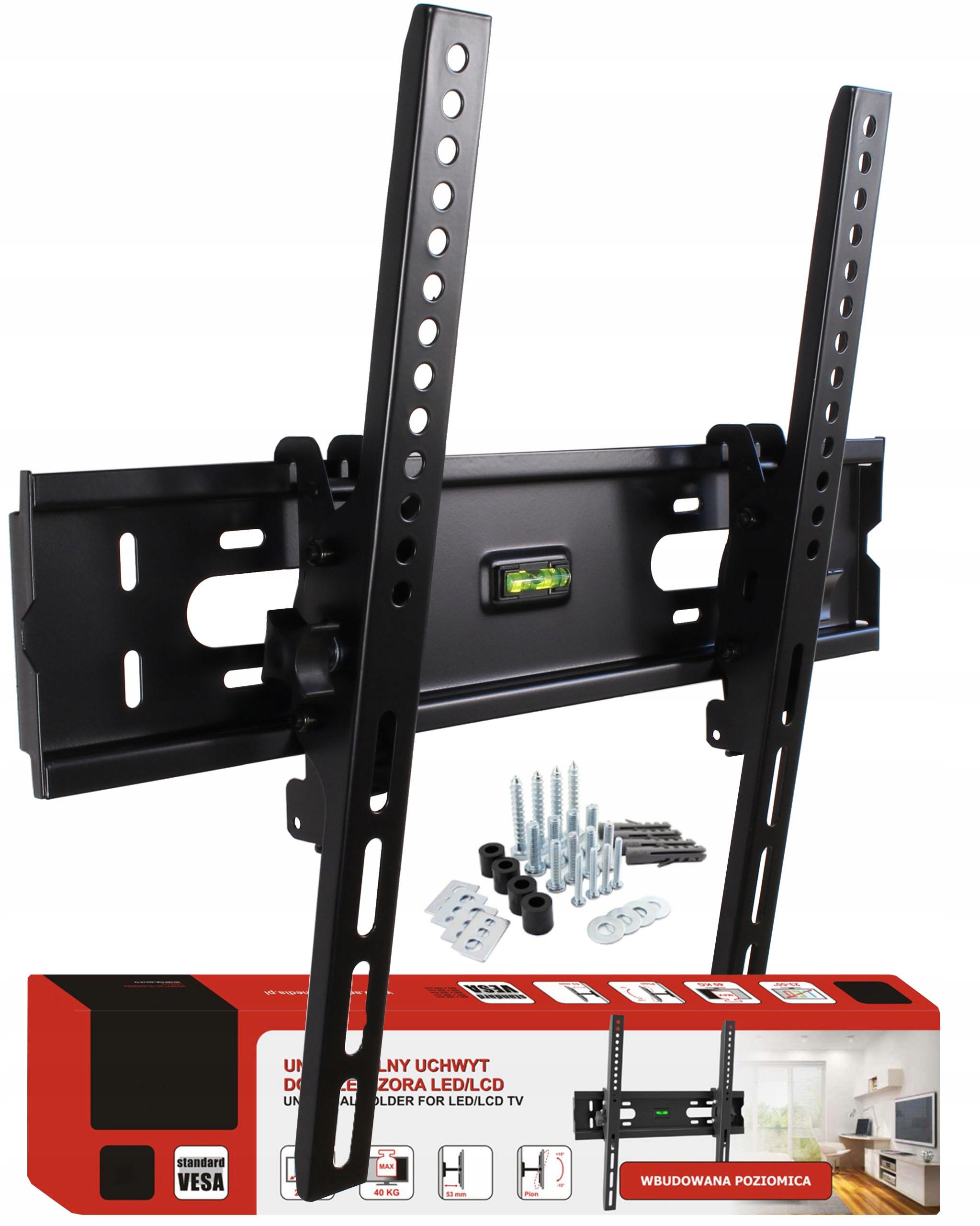 Item BRACKET TV wall BRACKET FOR TVS 23 - 55 40 kg POWERFUL