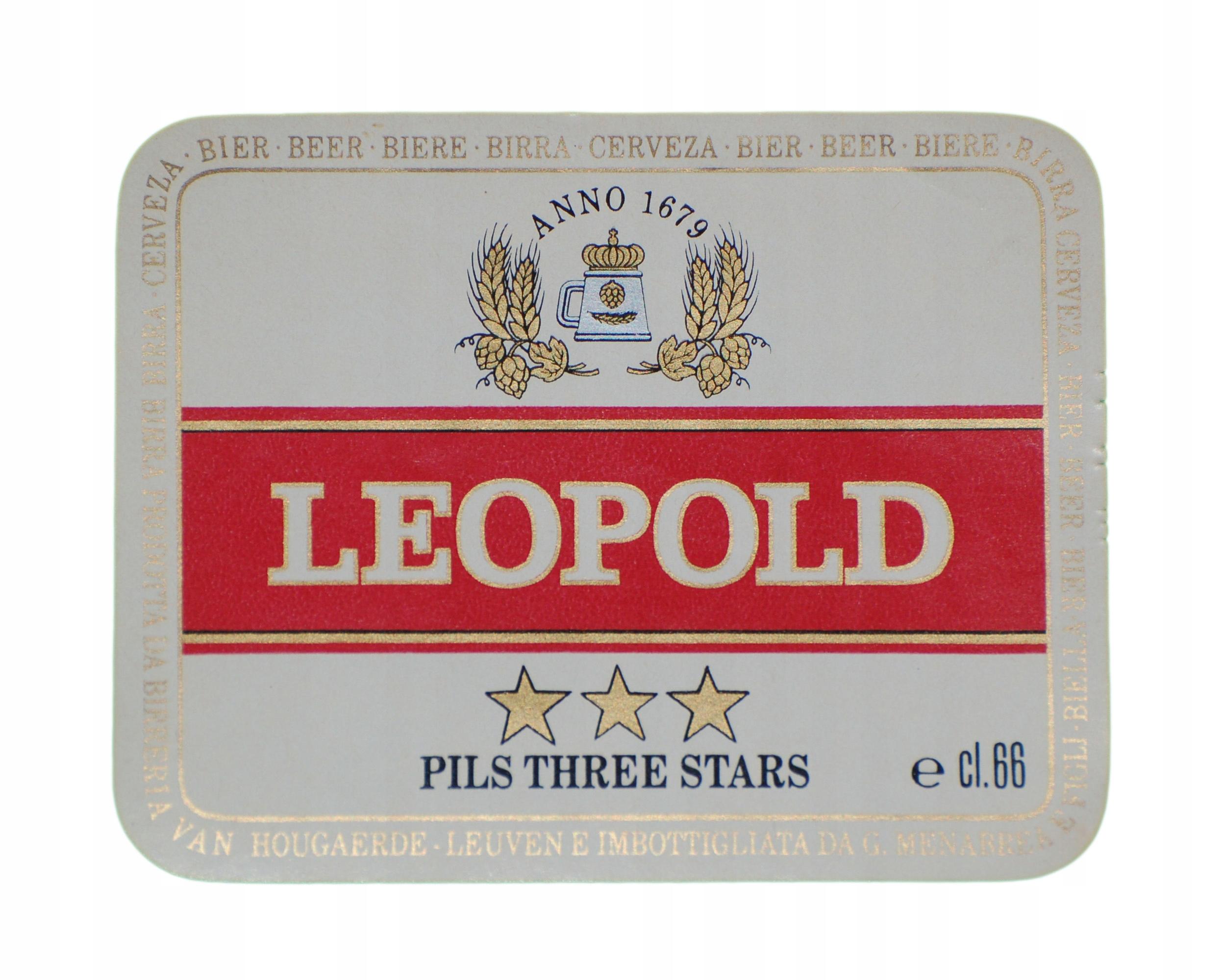 Купить LABEL LEOPOLD BEER Бельгия на Otpravka - цены и фото - доставка из Польши и стран Европы в Украину.