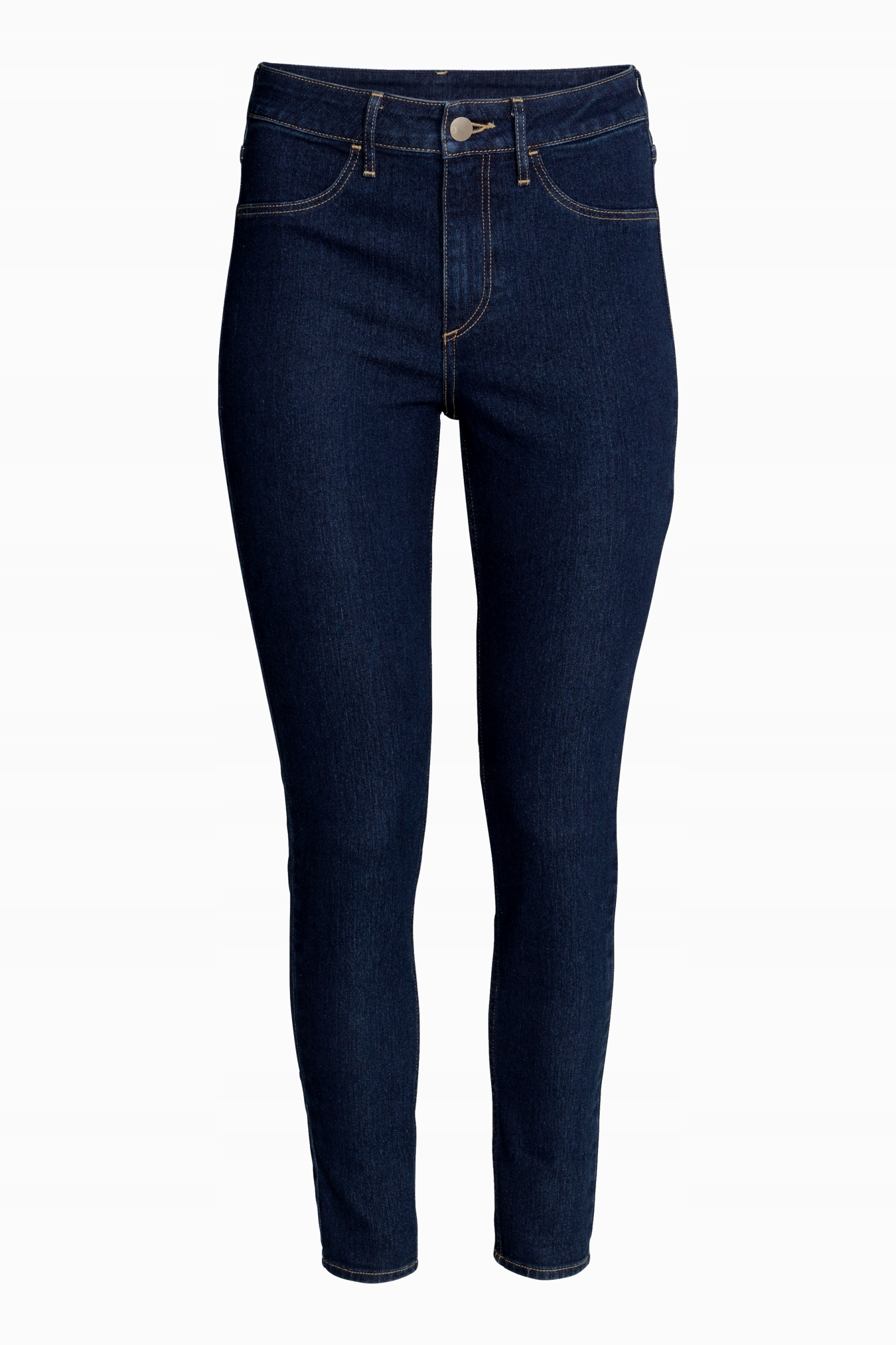 H&m Slim Fit High Spodnie Ankle rurki W26 36 S