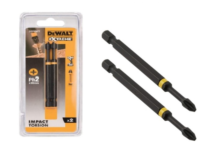 DeWALT DT70567T bity udarowe Ph2 (89mm)