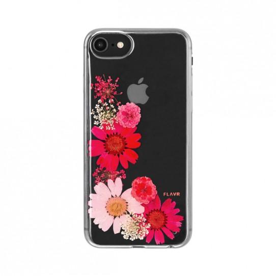 Flavr Kwiaty Etui silikon bezbarwny iPhone 7 4.7