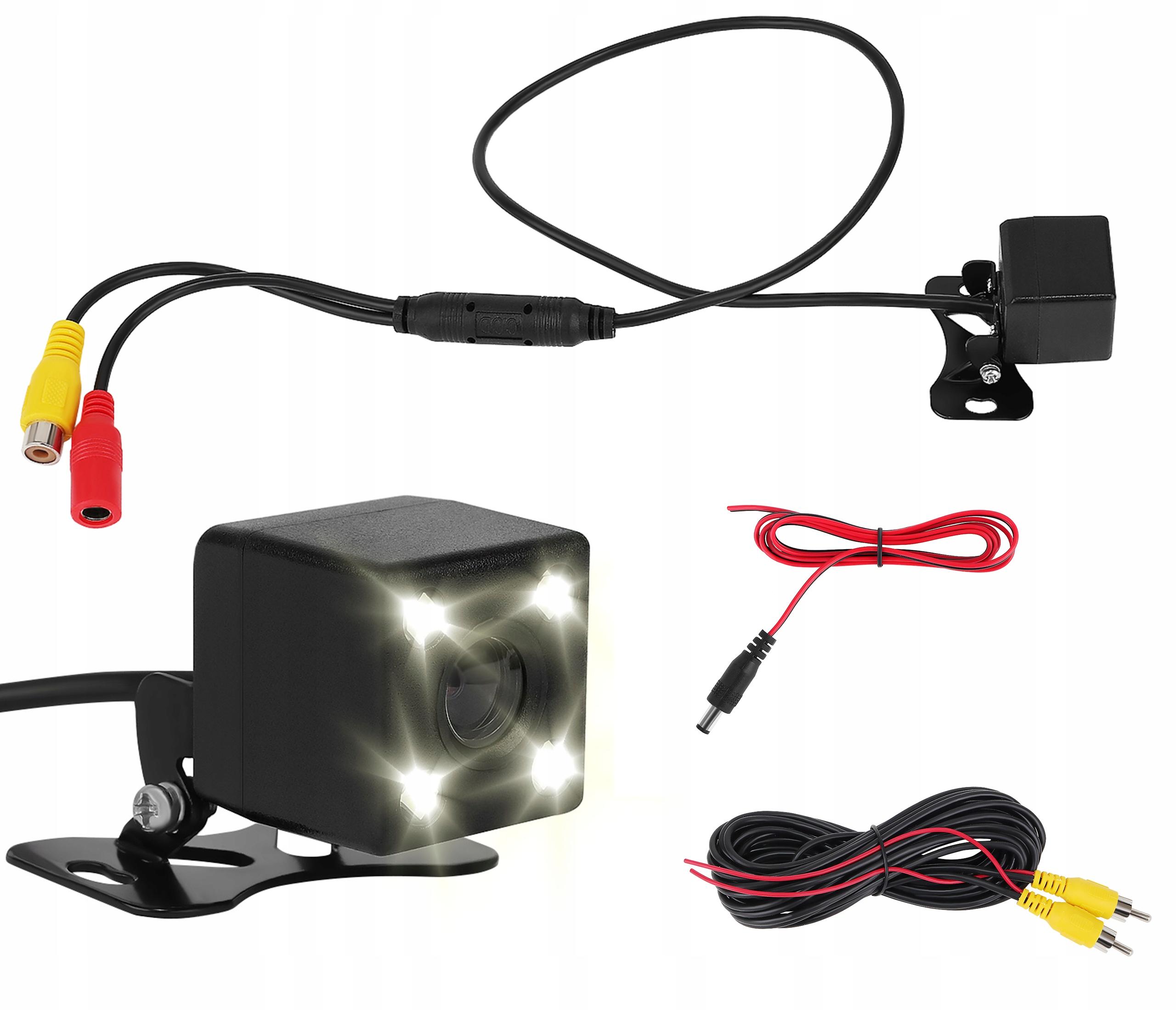 Парковочная камера заднего вида VIDEO RCA LED Night Mode
