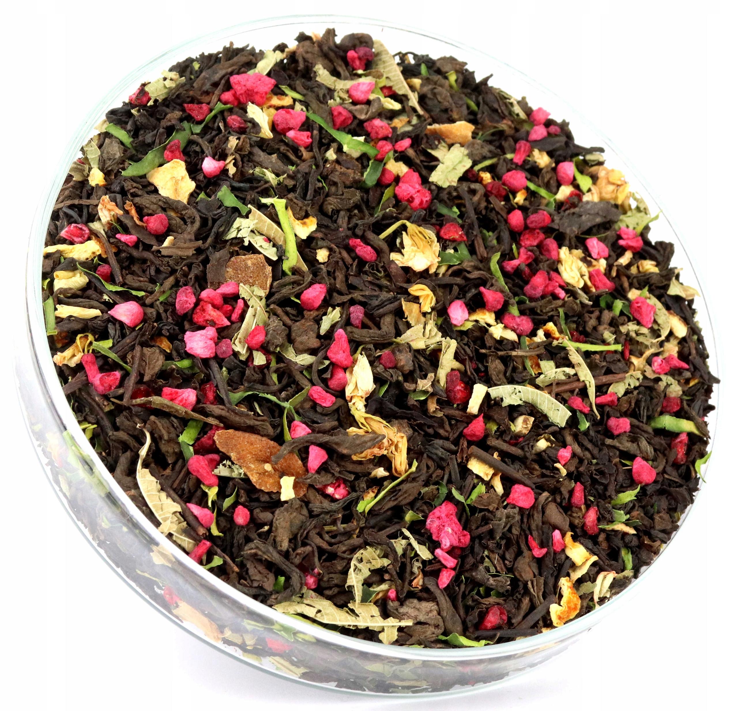 Item Red PU-erh tea REFRESHING lemon and orange 50 g