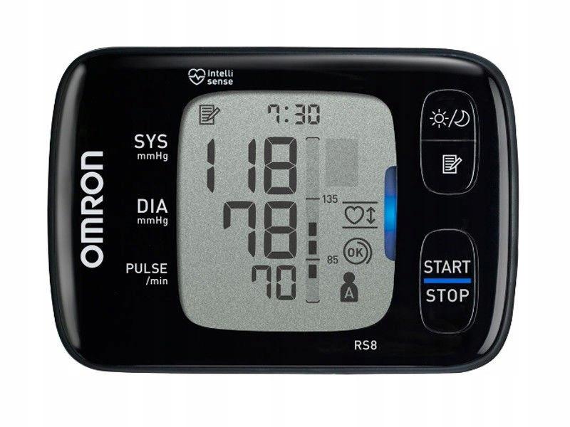 OMRON RS8 Манометр для зап'ястя ARITHYMIA NFC EAN 4015672109070