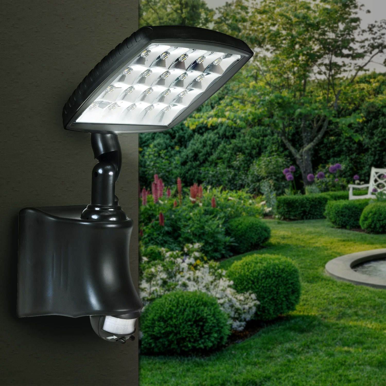 LAMPA SOLARNA OGRODOWA IP44 LED HALOGEN SOLAR LED