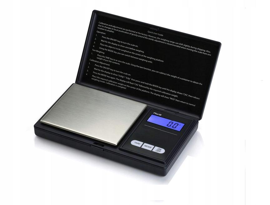 Pocket šperky Hmotnosť 0,01 až 200g LCD váhy