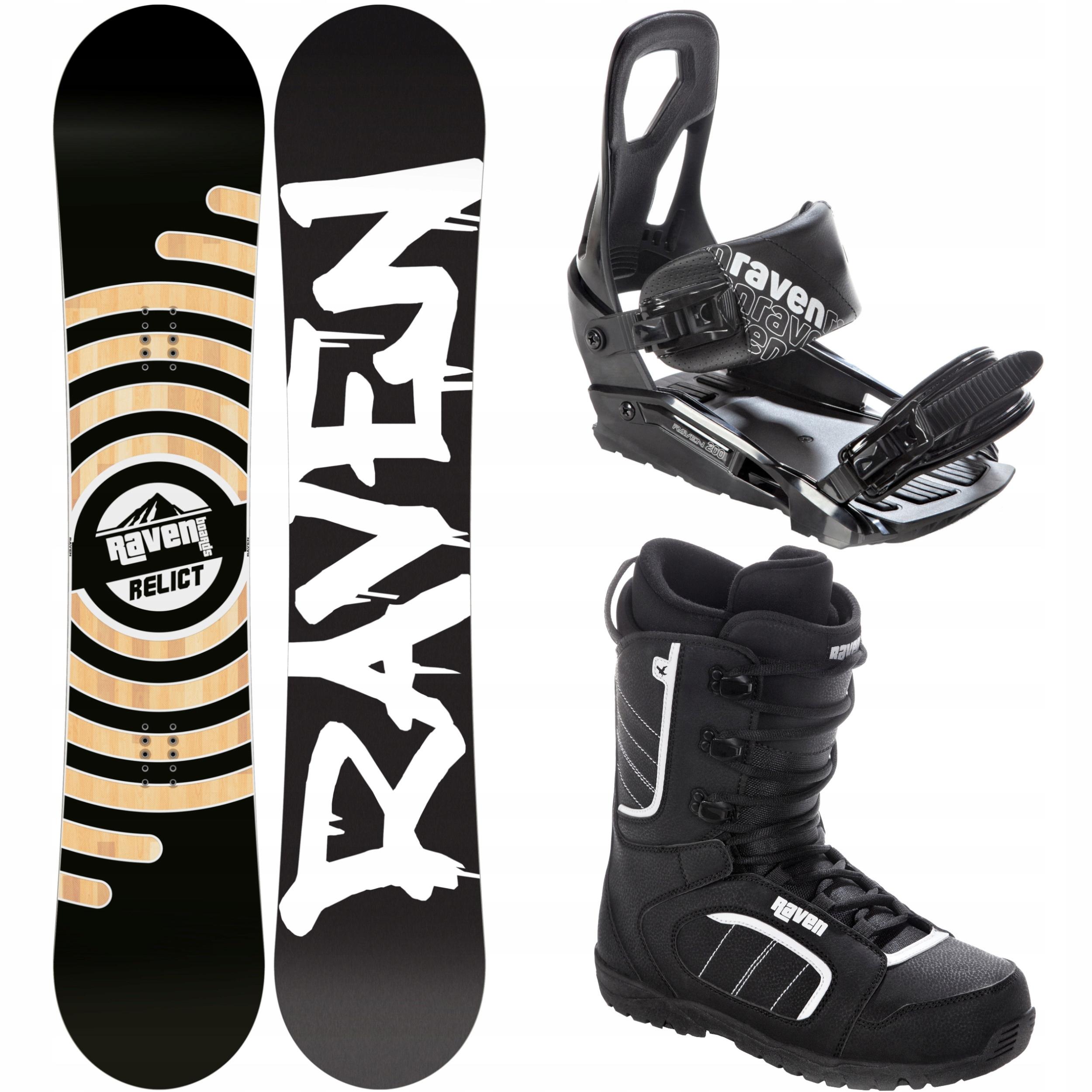 Súprava Snowboard RAVEN Reliktné 159cm Široký 2020