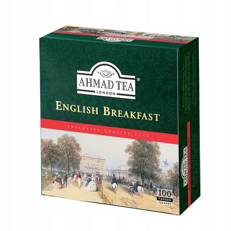 AHMAD Английский завтрак 100 пакетов