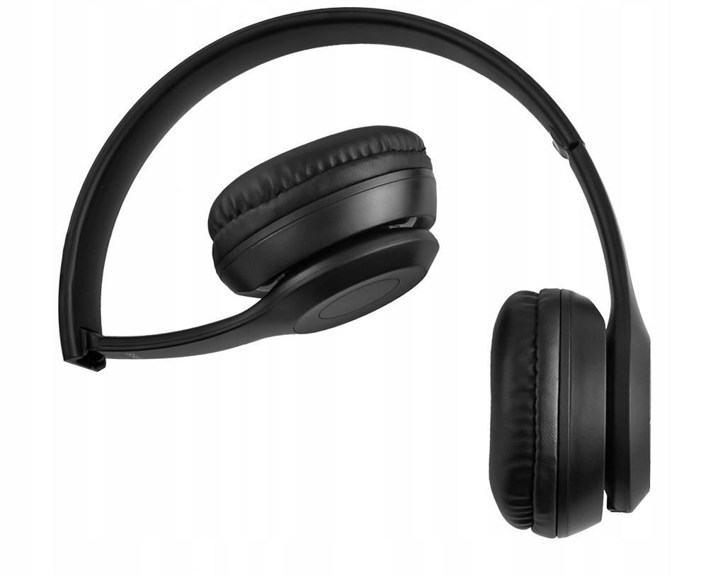 Bezdrátová sluchátka Bluetooth Mikrofon FM MP3 Výška produktu 20 cm