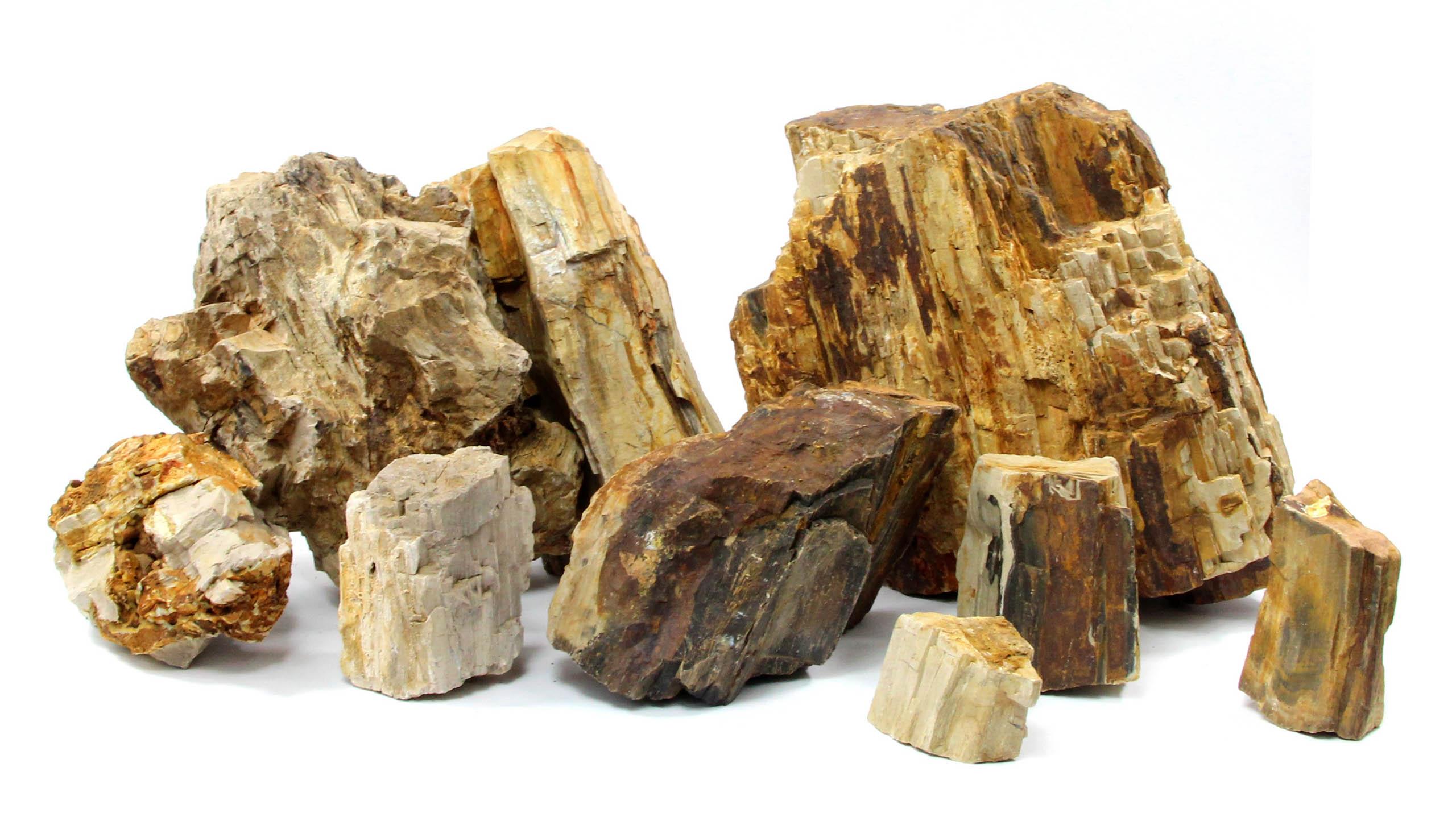 DREVENÉ KAMEŇ 20 kg kameňa, prírodného kameňa akvária