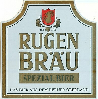 Купить RUGEN BRAU BEER LABEL Швейцария на Otpravka - цены и фото - доставка из Польши и стран Европы в Украину.