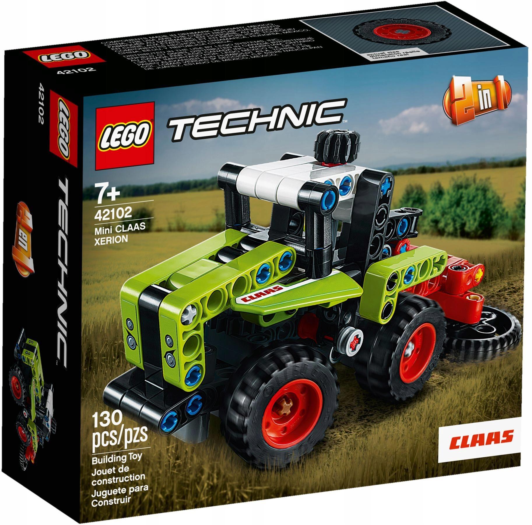 LEGO 42102 Technic Traktor Kombajn PEWNI SZYBKO