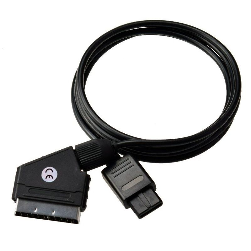 Item The PAL Scart RGB cable for Nintendo 64 GameCube SNES