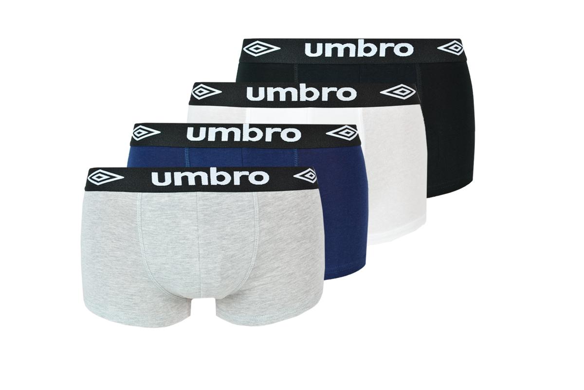 UMBRO BOXERS Мужские трусы 4 шт. BM186 M