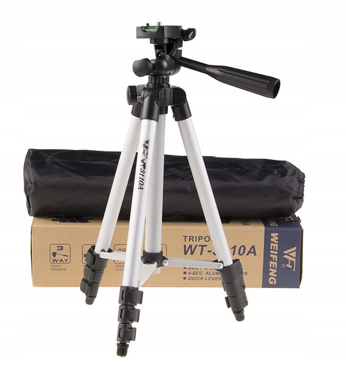 Item MOBILE photo TRIPOD + CASE FOR CAMERA, PHONE