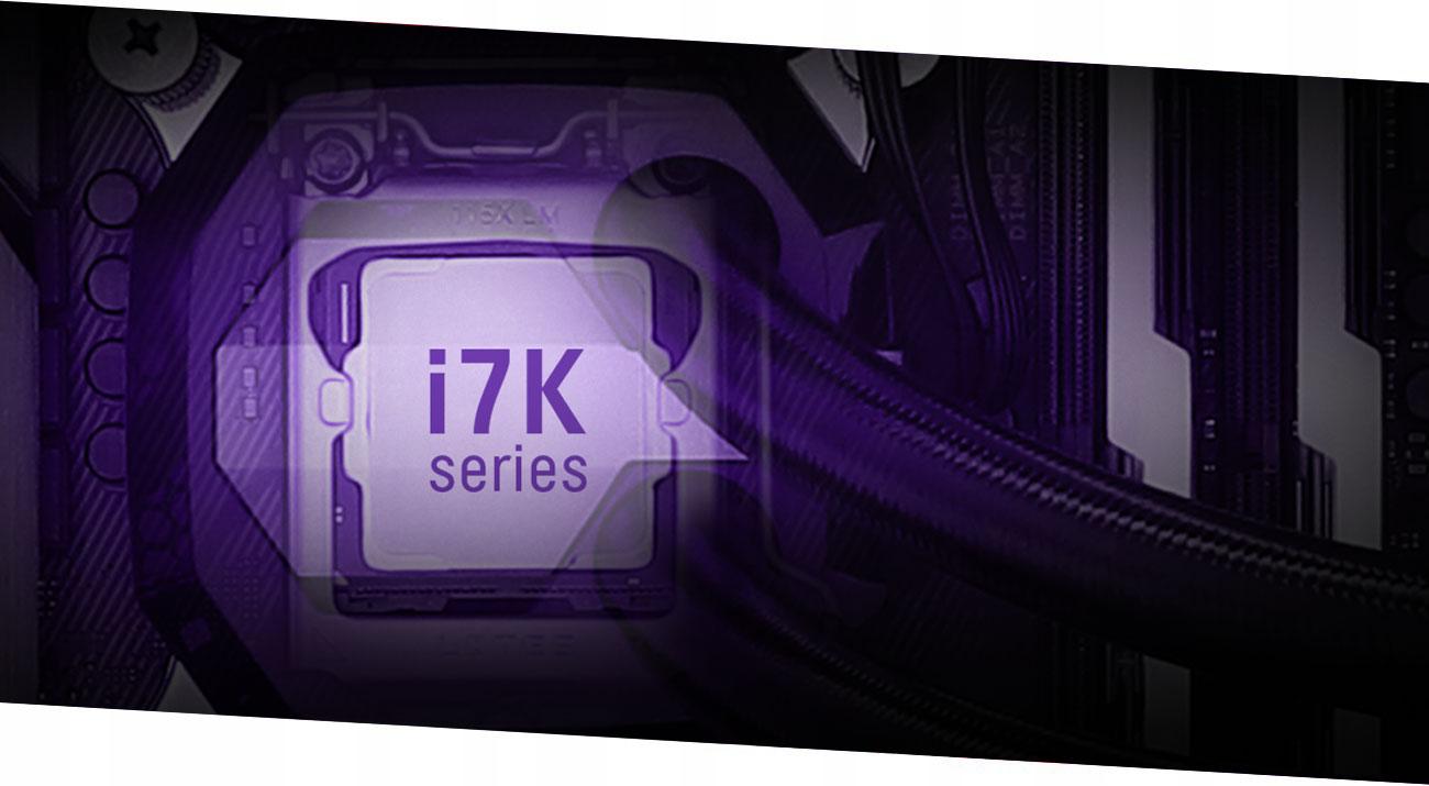 OUTLET x-kom G4M3R 600 i7 32G 250+500SSD GTX1080Ti Taktowanie bazowe procesora 3.7 GHz