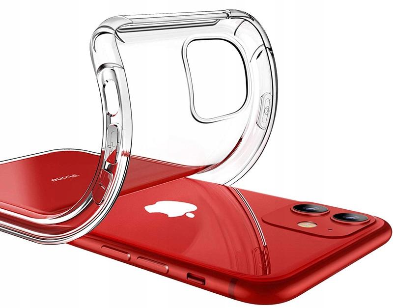 ETUI CLEAR CASE GUMA + SZKŁO 9H do iPhone 11 Przeznaczenie Apple