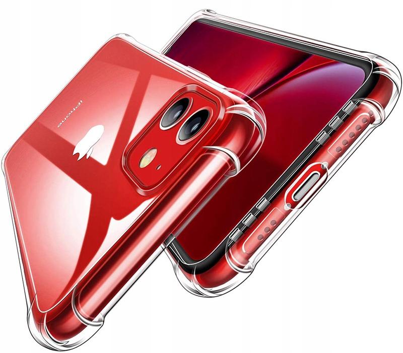 ETUI CLEAR CASE GUMA + SZKŁO 9H do iPhone 11 Producent INNY