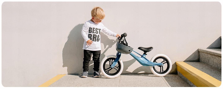 """Rowerek biegowy MAGNEZOWY Lionelo Bart 12"""" Rozmiar koła w calach 12"""""""