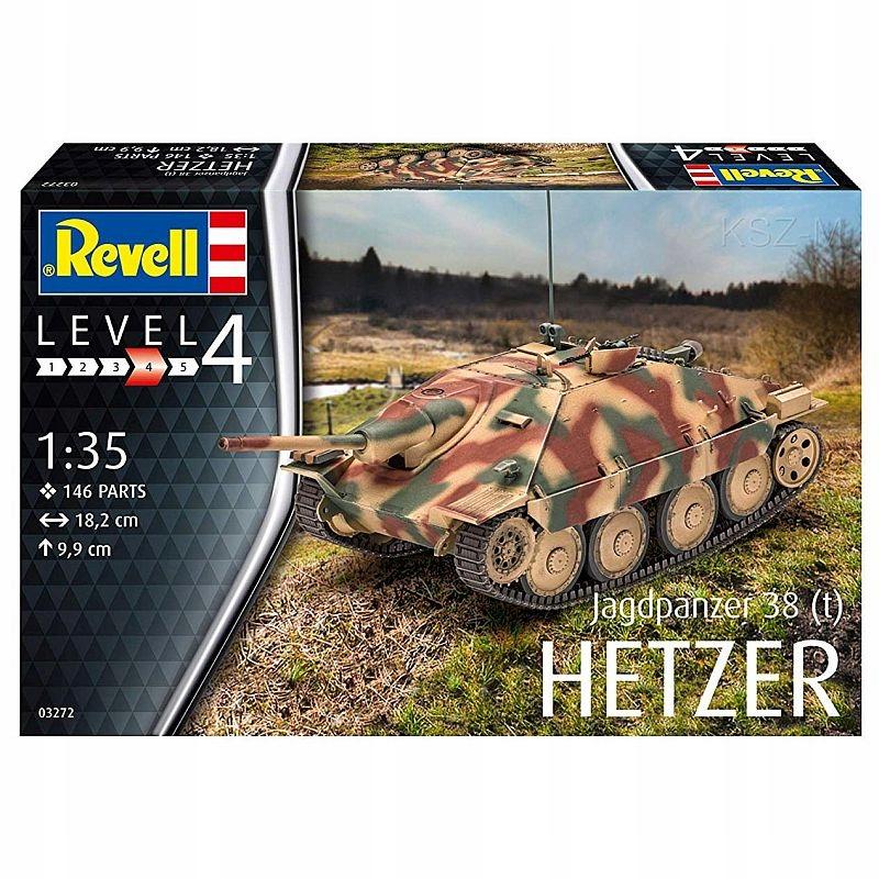 REVELL 03272 - Jagdpanzer 38 (t) HETZER 1/35 доставка товаров из Польши и Allegro на русском
