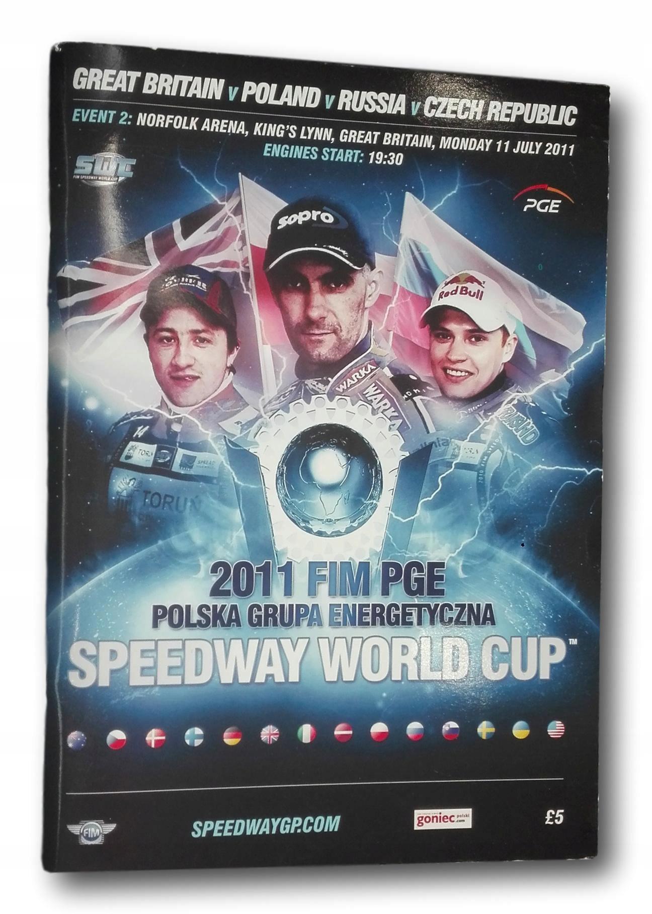 Svetový pohár Svetovej cesty 2011 FIM 70 Str