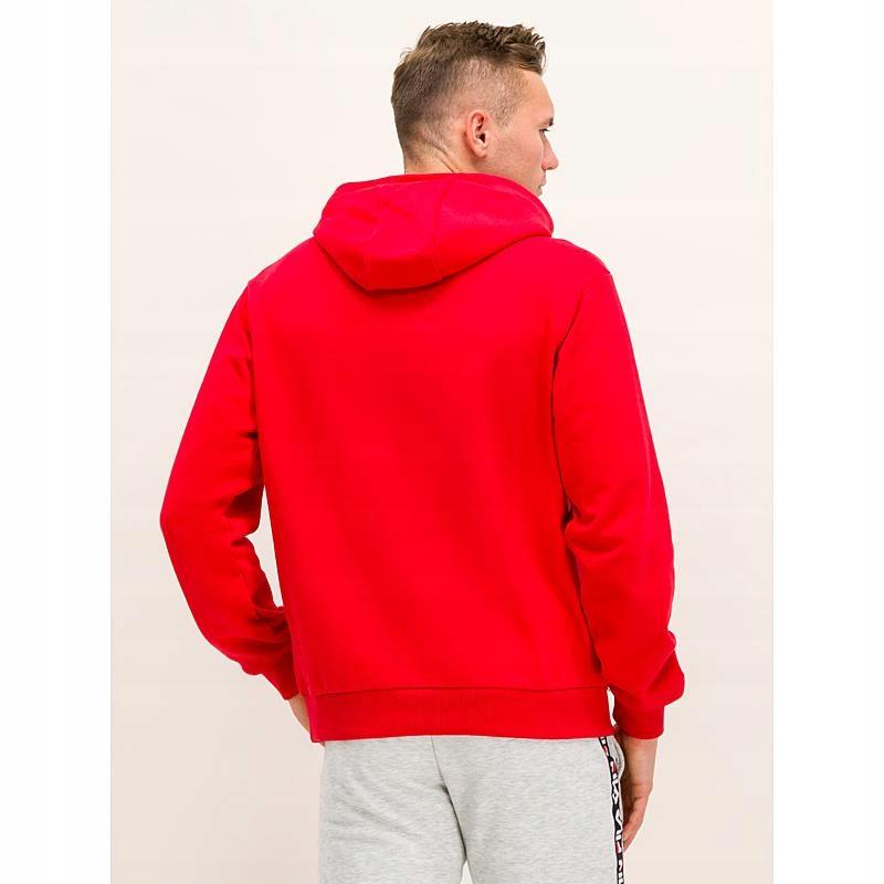 Bluza męska z kapturem Fila Victor Hoody true red (687458 006)