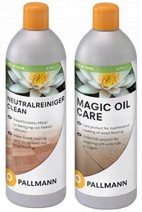 Nastaviť Pallmann Clean + Magic Oil Care 0,75 L