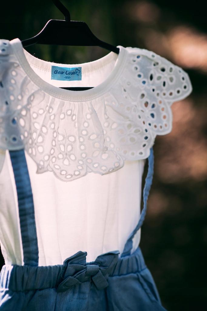 Sukienka Lato Wiosna jeans dziewczynka PSYTUL Płeć Dziewczynki