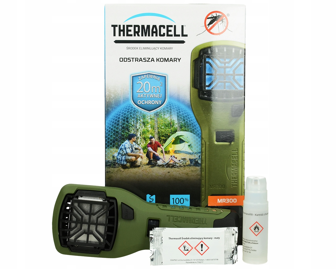 ZARIADENIE MOSQUITO REPELLER THERMACELL MR300