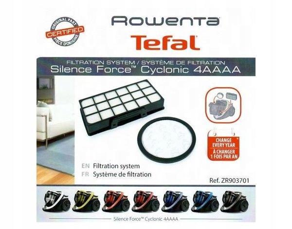 Cyklónový vysávač Rowenta Tefal Force Hepa filter