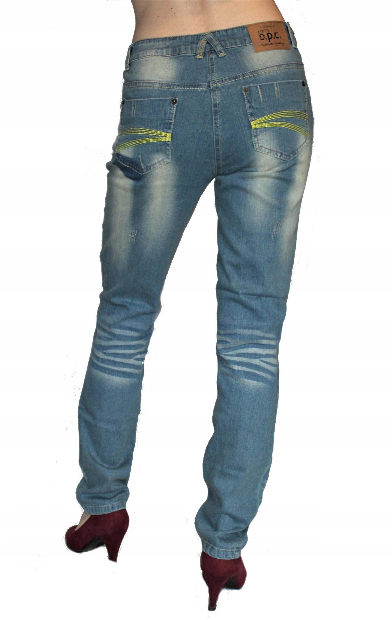 Bonprix nowe Straight spodnie Denim 164 S / M Reg