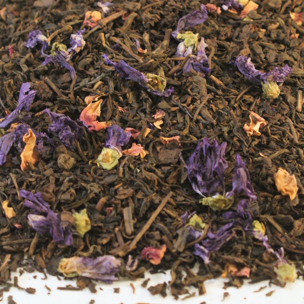 Herbata czerwona arom. PU-ERH CHIŃSKA WIŚNIA 1 kg