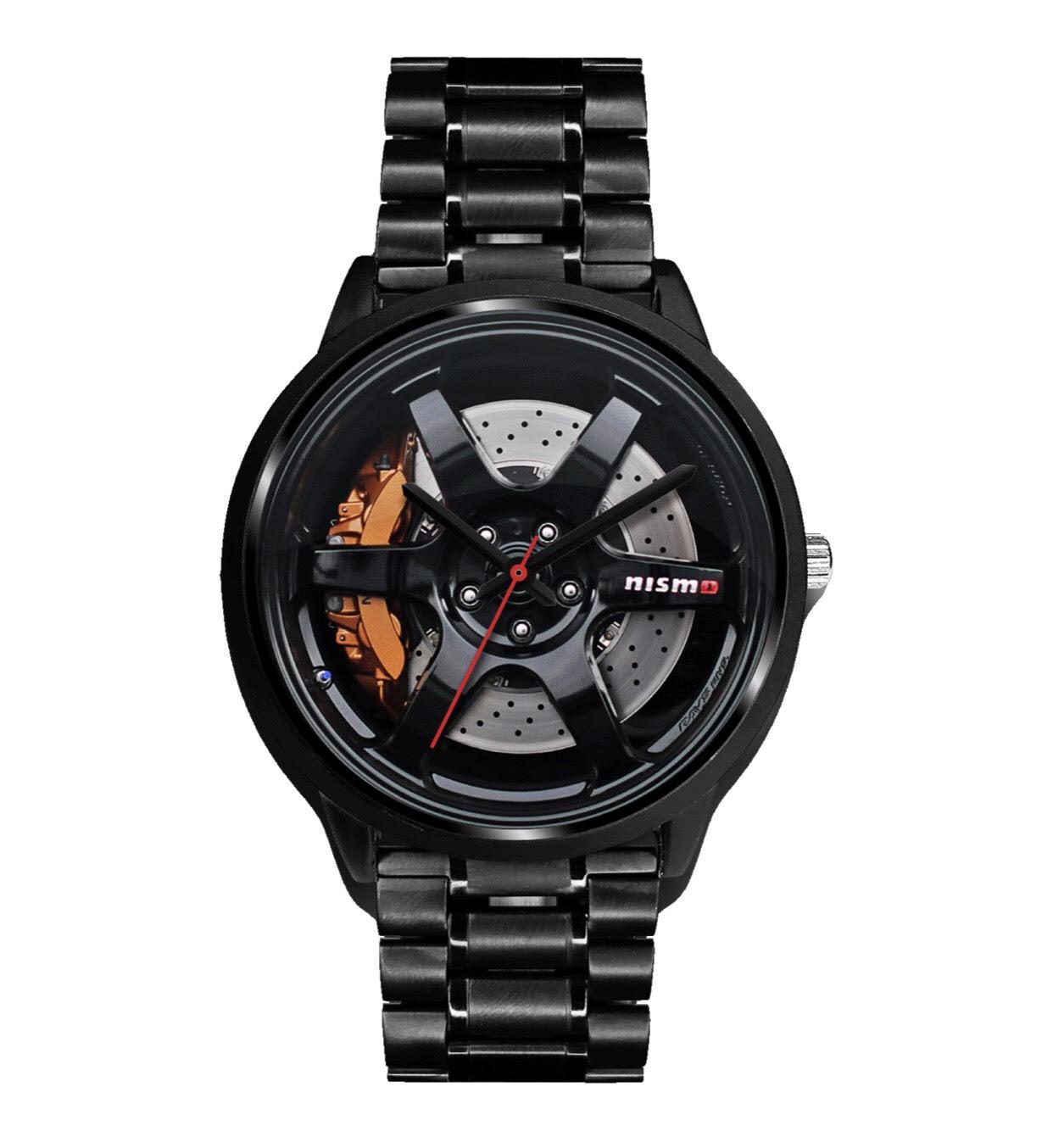 Наручные часы Nismo Nissan Wheel Rim браслет GT-R