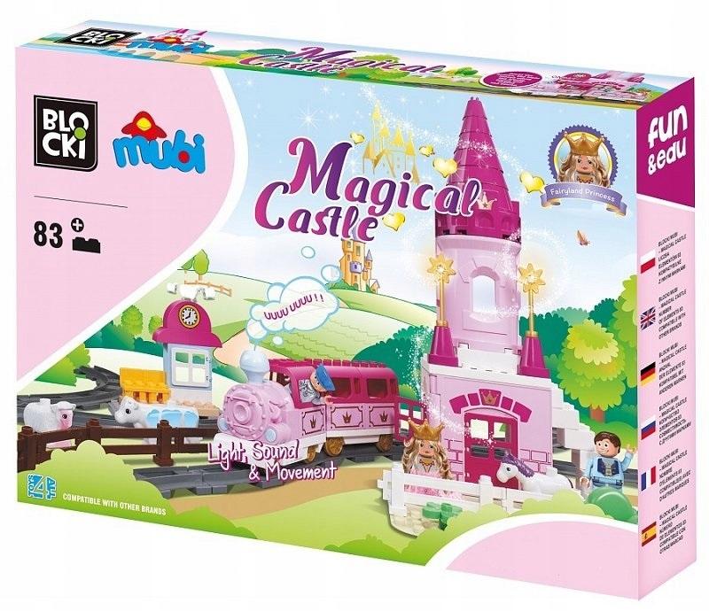 Vlakové koľaje Blocki Mubi Fairy-tale Palace 83el