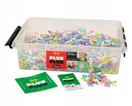 Plus-Plus Mini Pastel 3600 ks Vzdelávacie bloky