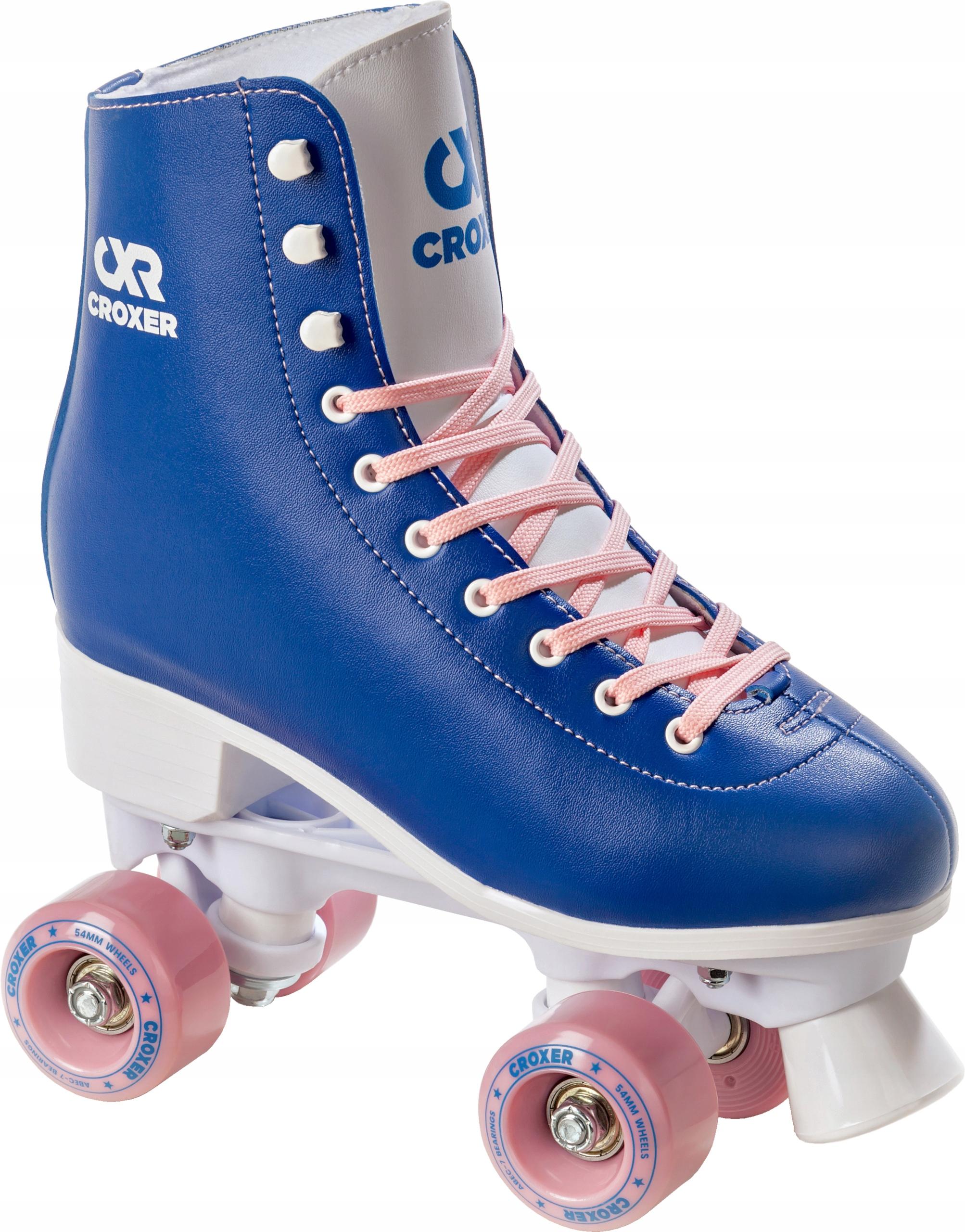 Klasické kolieskové korčule Croxer Belen Blue 40 Retro