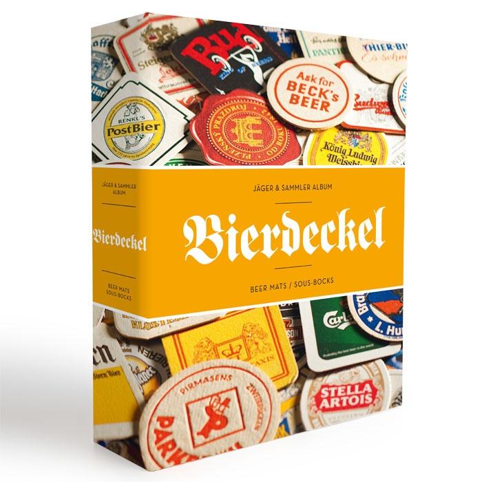 Album na pivné podložky 90 ks. B - Leuchtturm