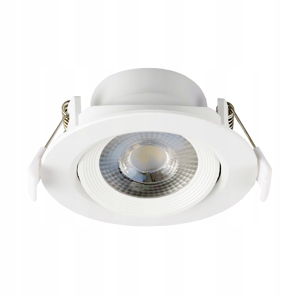 ZESTAW 10 X OCZKO SUFITOWE WPUST LAMPA LED 7W 230V