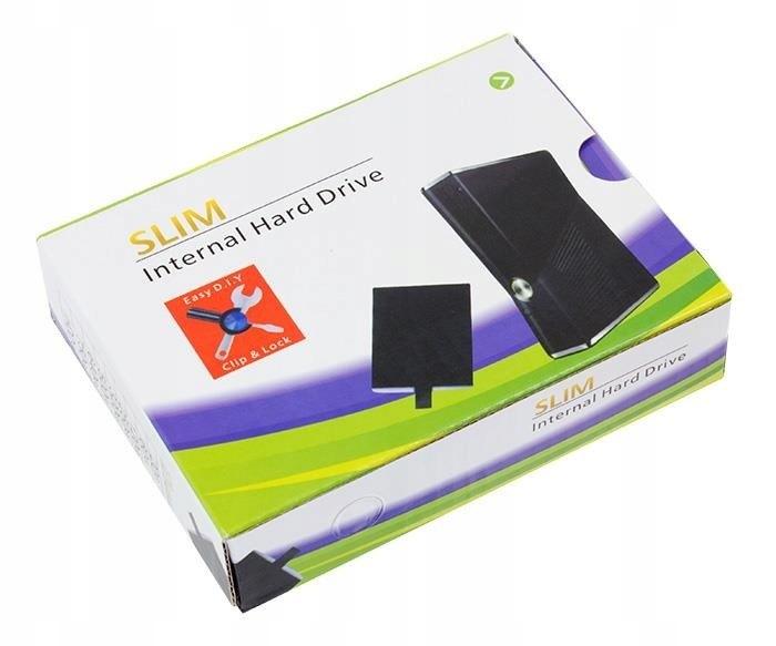 Xbox 360 Slim 2,5 Disk konzoly konzoly