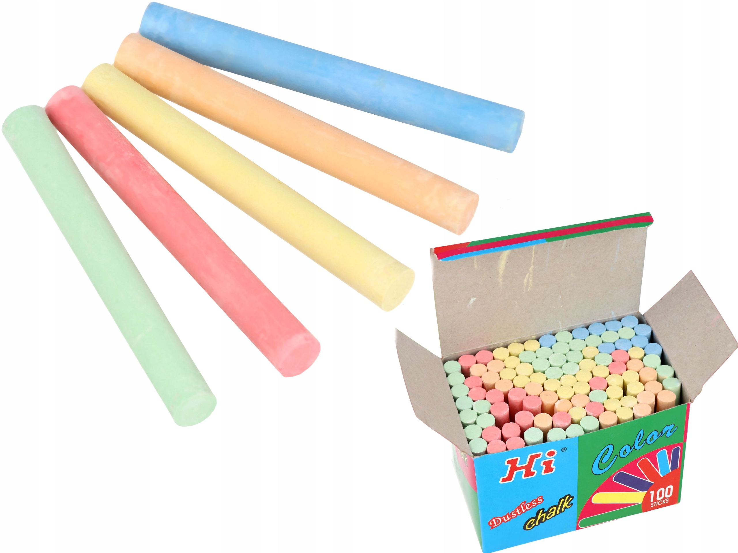 Item CHALK BOARDS ARE ROUND, COLOR 5 COLORS, 100 PCS