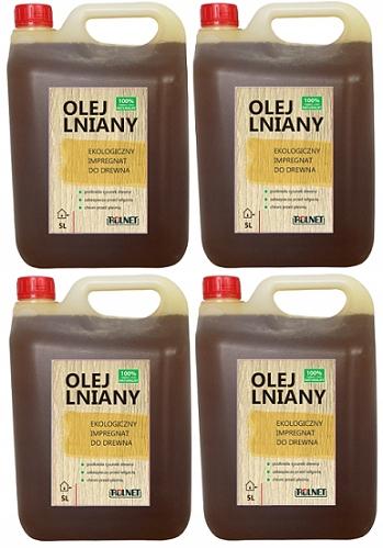 Льняное масло Пропитка древесины 20л НАТУРАЛЬНЫЙ ЭКО