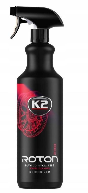 K2 ROTON PRO Krwawa felga żel mycie czyszczenie 1L