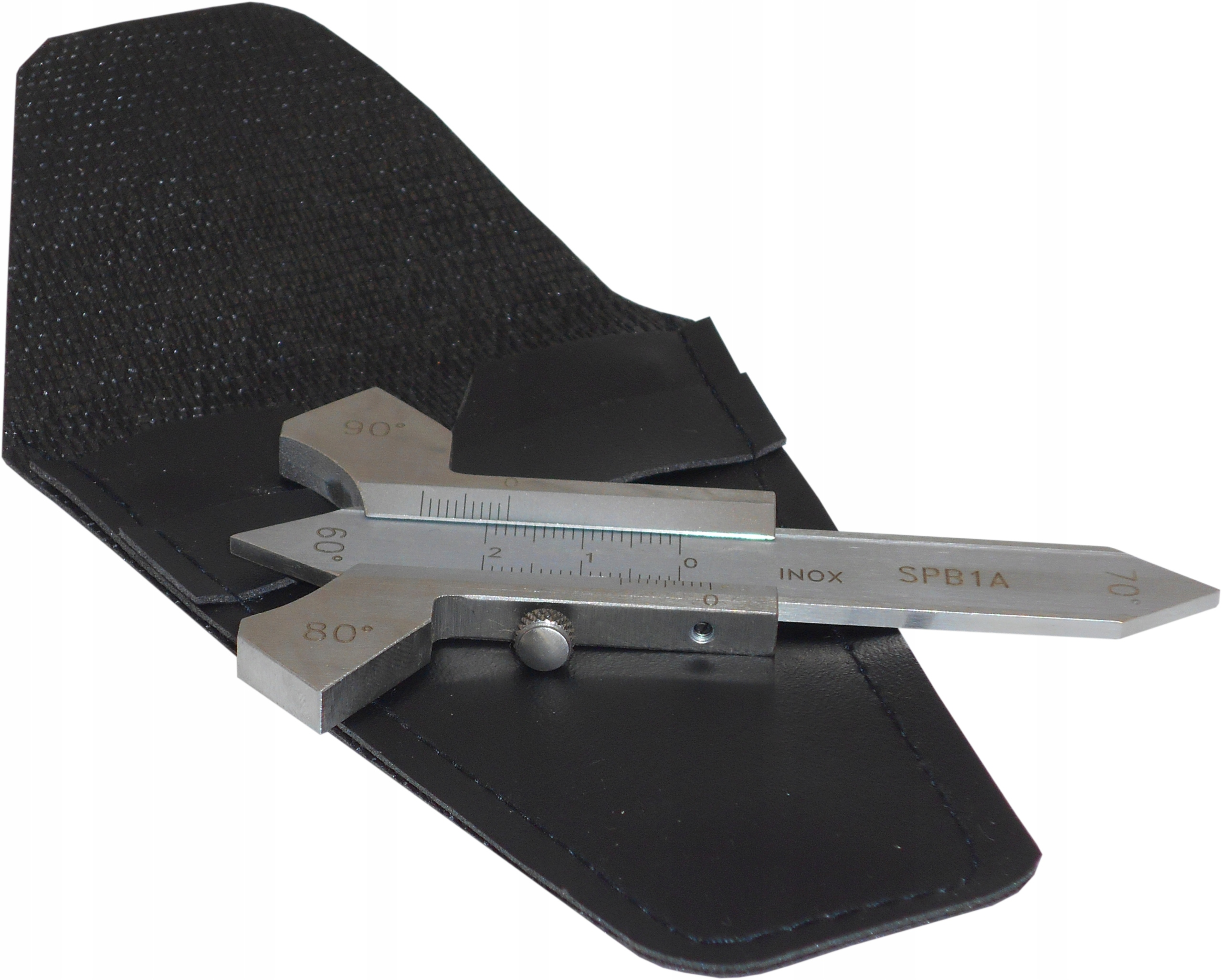 Analógové noniem zváracie meradlo SPB-1A, vyrobené z nehrdzavejúcej ocele