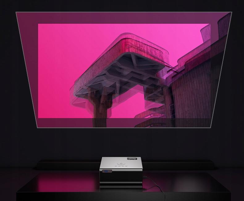 PROJECTOR OVERMAX MULTIPIC 3.5 LED HD WiFi PROJECTOR LED display teknologi
