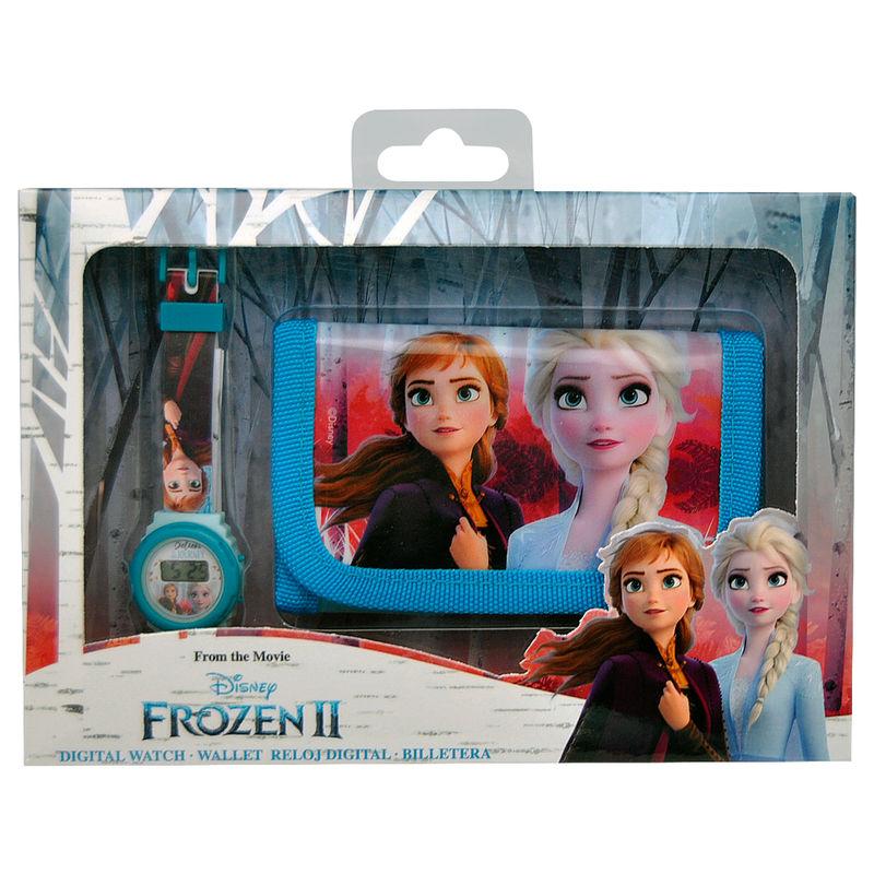Hodinková peňaženka Frozen II Frozen Elsa 054