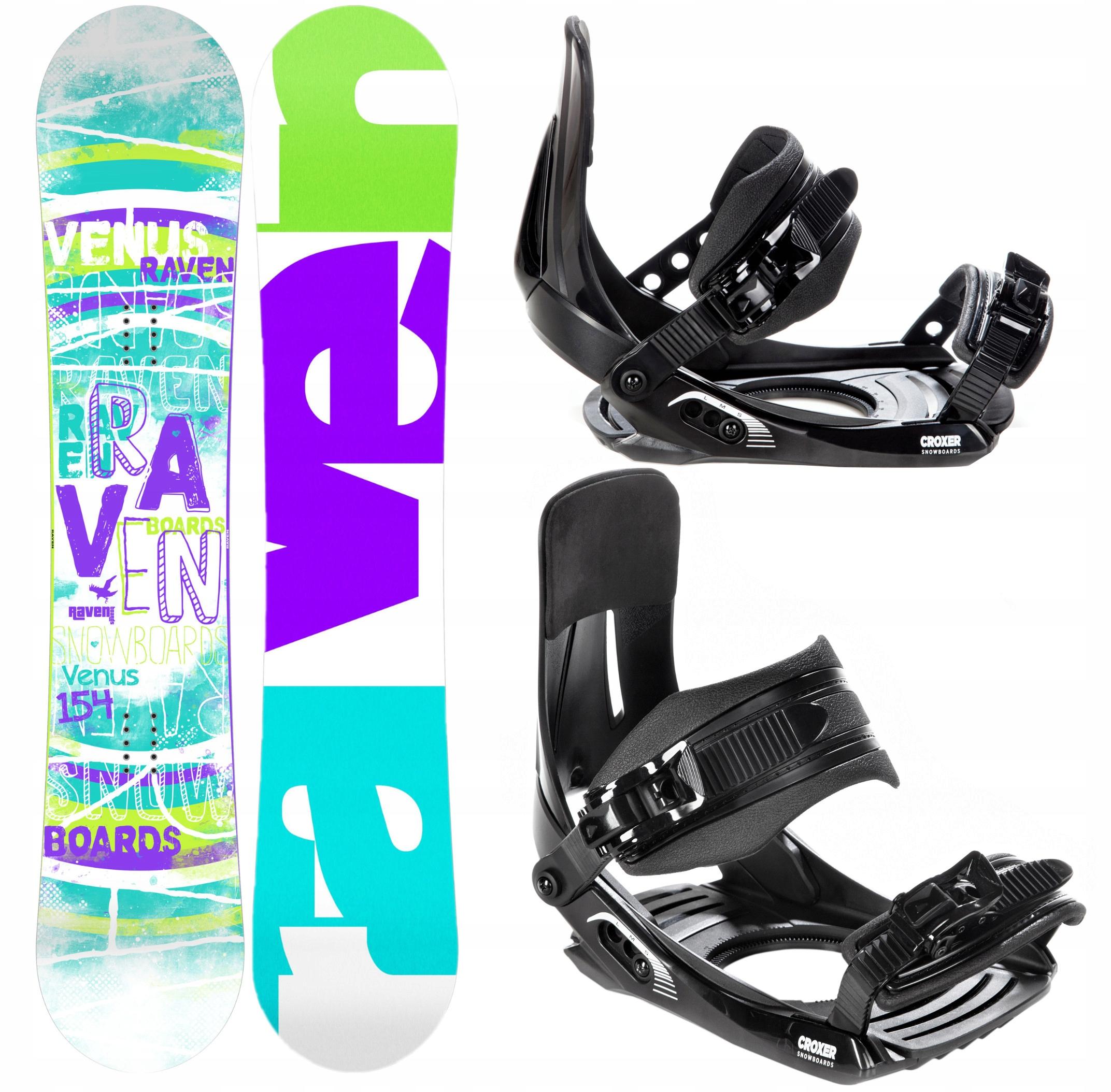 Snowboard RAVEN Venuša 147cm 2020 + záväzné Croxer