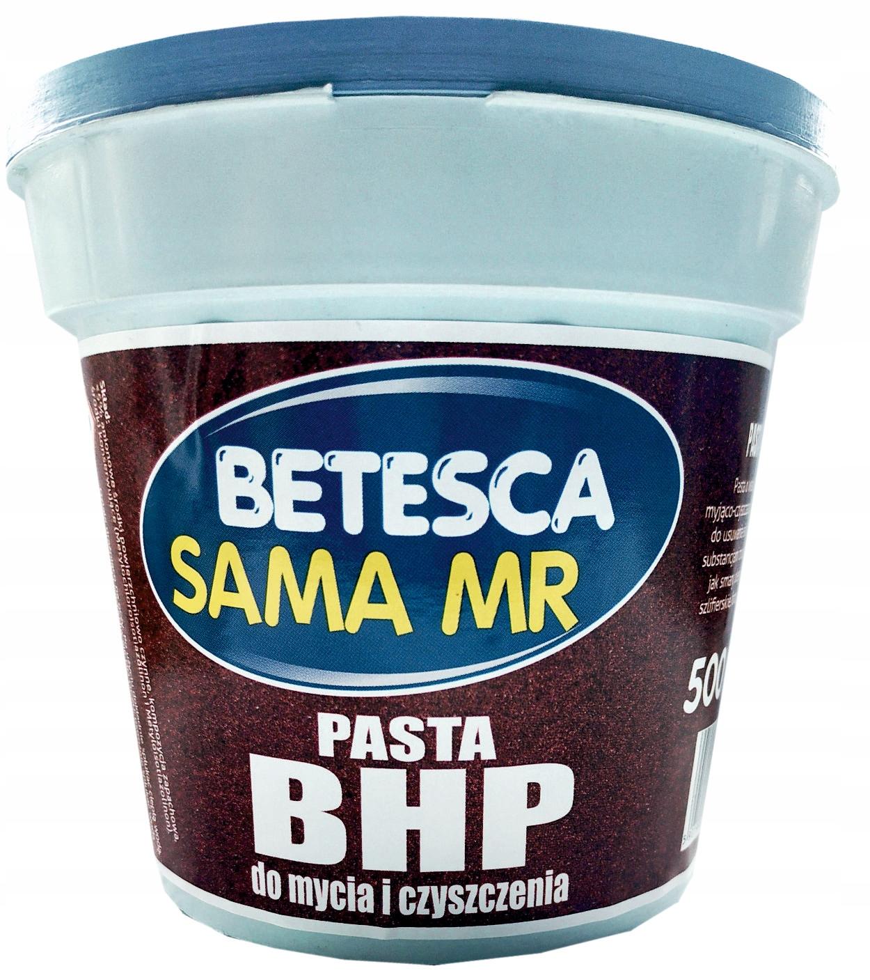 Pasta BHP Do Mycia Rąk ścierna SAMA MR 500g